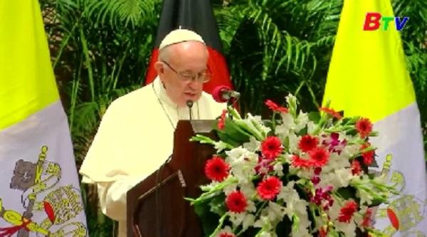 Giáo hoàng Francis thăm Bangladesh