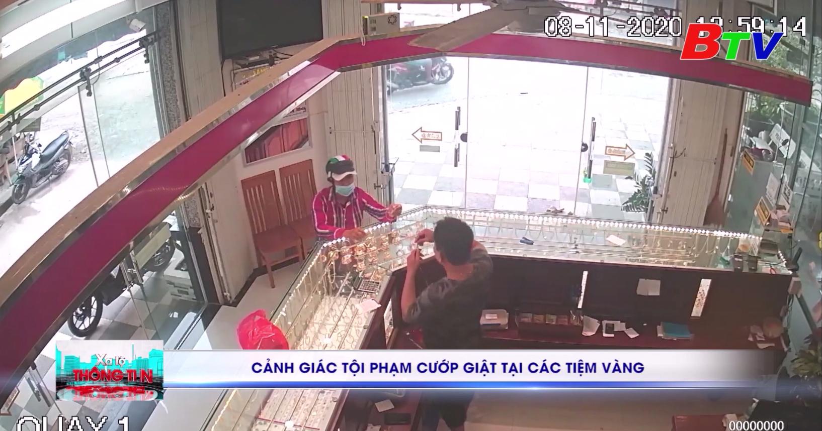 Cảnh giác tội phạm cướp giật tại các tiệm vàng