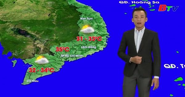 Bản tin Thời tiết (Ngày 29/2/2020)