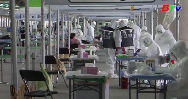 Hàn Quốc ghi nhận số ca nhiễm mới