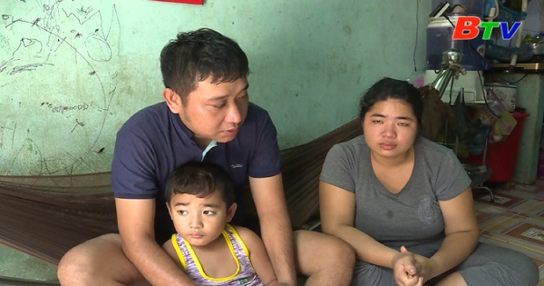 San Sẻ Yêu Thương - Hoàn cảnh gia đình anh Vinh, chị Tú (Số 19/CD3, tổ 11, KP Bình Phước B, phường Bình Chuẩn, TP. Thuận An)