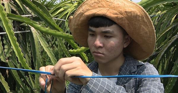 Thắp sáng ước mơ xanh - Em Nguyễn Quốc Bảo, lớp 12A9, trường THPT Phan Bội Châu, Tp.Phan Thiết, Bình Thuận