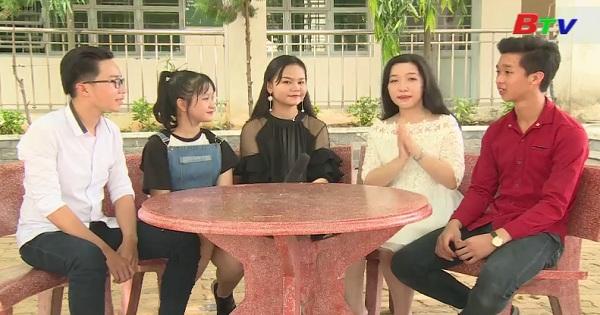 Nhịp cầu thân ái - Giao lưu với đội văn nghệ Trường PTTH Nguyễn Đình Chiểu