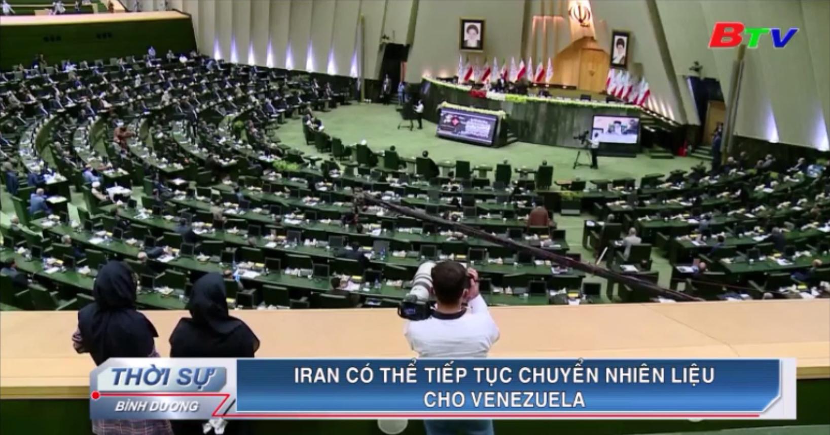 Iran có thể tiếp tục chuyển nhiên liệu cho Venezuela