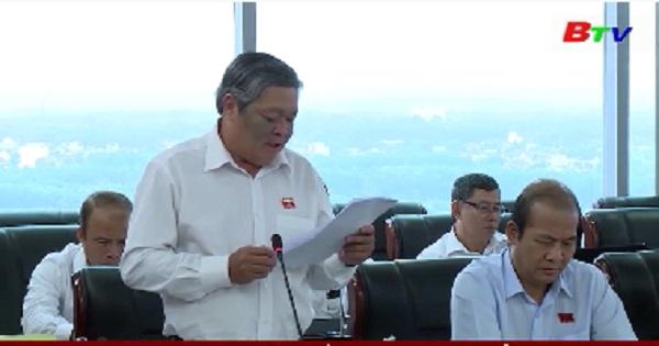 HĐND tỉnh Bình Dương khóa IX giám sát kết quả giải quyết kiến nghị của cử tri