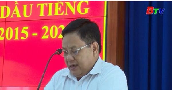 Hội nghị Ban Chấp hành Đảng bộ huyện Dầu Tiếng (mở rộng) lần thứ 38, khóa IV