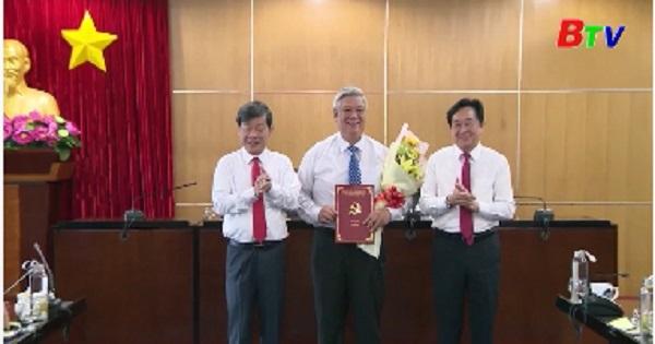 Tỉnh ủy trao các quyết định về công tác nhân sự
