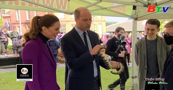 Vợ chồng Hoàng tử Anh William có chuyến thăm Bắc Ireland