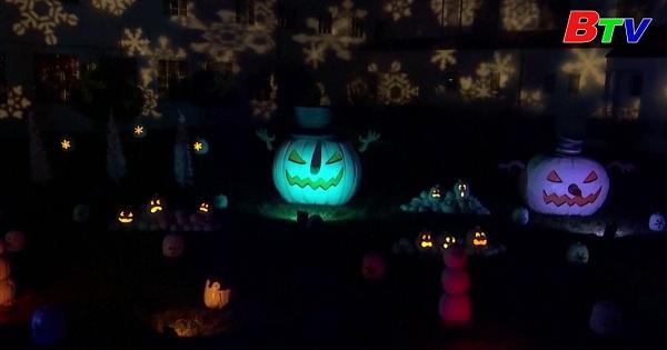 Cung đường bí ngô chào đón lễ hội Halloween tại Los Angeles, Mỹ