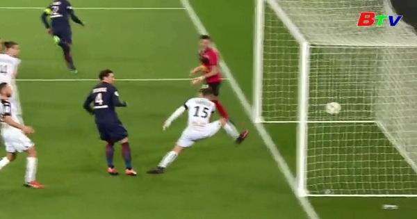 Vòng 15 Giải Hạng nhất nước Pháp: PSG 2-0 Angers