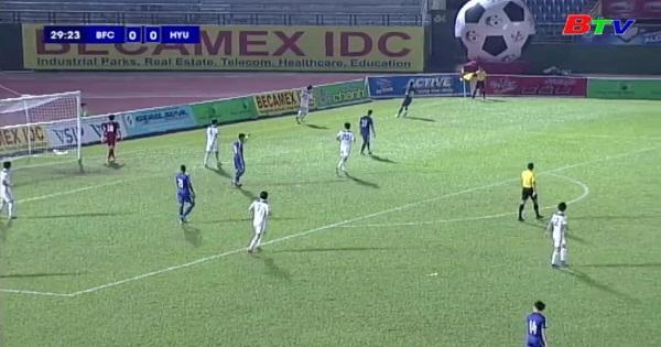 BTV - Number 1 Cup 2018|| Becamex Bình Dương - Hanyang University FC