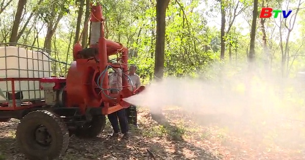 Sáng chế máy phun thuốc phục vụ nông nghiệp