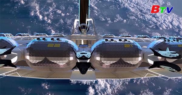 """""""Khách sạn vũ trụ"""" đầu tiên sẽ vào quỹ đạo từ năm 2025"""