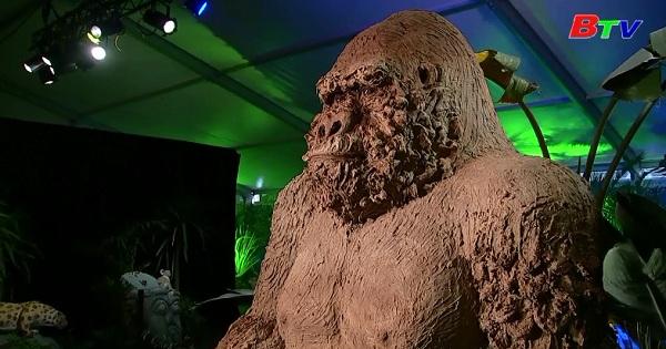 Lễ hội điêu khắc Socola ở thành phố Durbuy - Bỉ