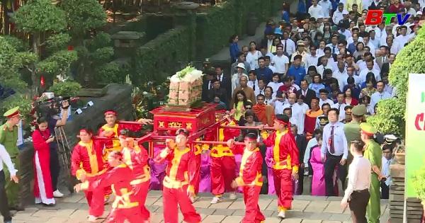 Lễ giỗ tổ Hùng Vương - tôn vinh truyền thống dân tộc Việt