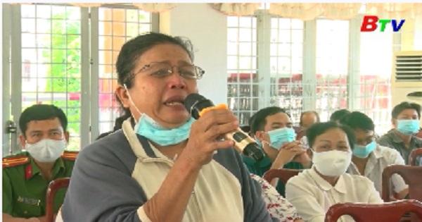 Đại biểu HĐND tỉnh, huyện Phú Giáo tiếp xúc cử tri thị trấn Phước Vĩnh