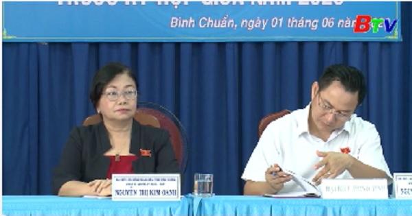 Đại biểu HĐND tiếp xúc cử tri phường Bình Chuẩn