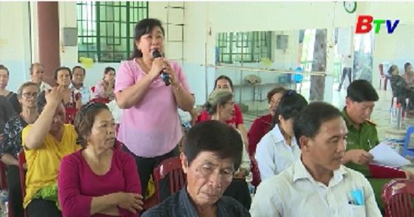 Đại biểu HĐND tỉnh, thành phố Thuận An tiếp xúc cử tri phường An Thạnh