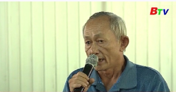 Đại biểu HĐND tỉnh, thành phố Thuận An tiếp xúc cử tri phường Hưng Định