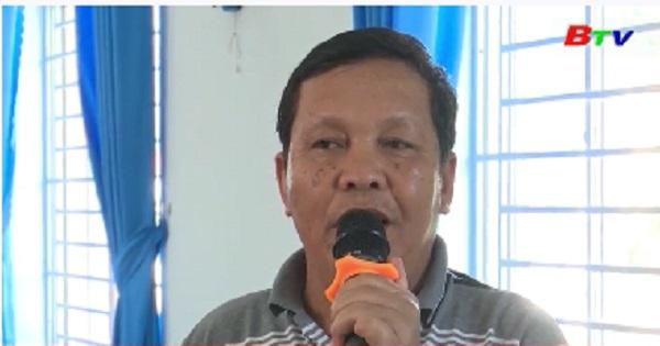 Đại biểu HĐND tiếp xúc cử tri phường Thuận Giao