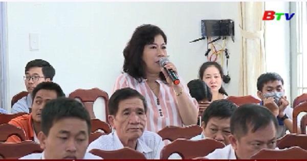 Chủ tịch UBND tỉnh tiếp xúc cử tri phường Lái Thiêu