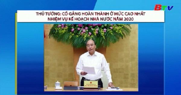 Cố gắng hoàn thành ở mức cao nhất nhiệm vụ kế hoạch nhà nước 2020