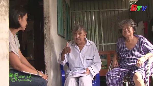 San Sẻ Yêu Thương - Hoàn cảnh chú Sang, cô Hà (6/7A đường 185, ấp 2, xã Bình Mỹ, huyện Củ Chi)