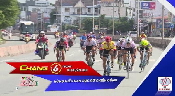 Giải Xe đạp Truyền hình Bình Dương mở rộng lần thứ V năm 2018 - Cúp Tôn Đại Thiên Lộc (CHẶNG 6)