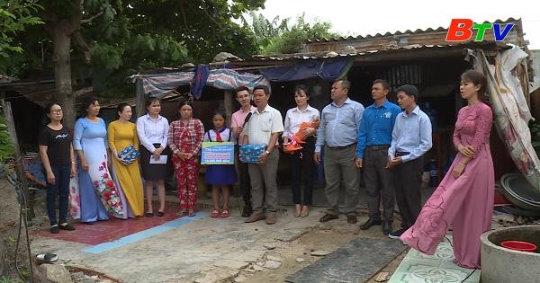 Thắp sáng ước mơ xanh - Hoàn cảnh em Nguyễn Thị Ngọc Tuyết, học sinh trường tiểu học Liên Hương 5, thị trấn Liên Hương, huyện Tuy Phong, tỉnh Bình Thuận