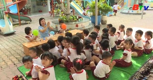 Kinh nghiệm nuôi dạy trẻ của Trường Mẫu giáo Măng Non - TP Thủ Dầu Mội tỉnh Bình Dương