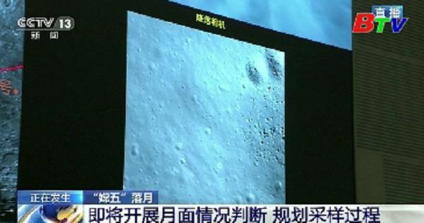 Tàu vũ trụ Hằng Nga 5 của Trung Quốc đã hạ cánh thành công xuống Mặt trăng