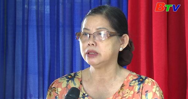 Chi Hội trưởng phụ nữ hết lòng với công tác hội