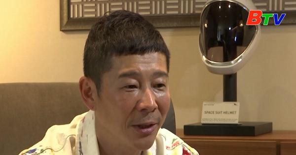 Tỷ phú Nhật tìm người đồng hành lên mặt trăng