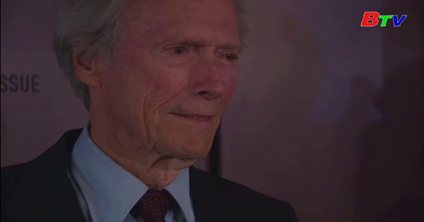 Huyền thoại điện ảnh Mỹ Clint Eastwood mừng sinh nhật tuổi 90