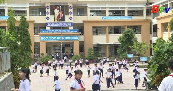Trường Tiểu học Tân Bình - Bắc Tân Uyên với phong trào thi đua hai tốt