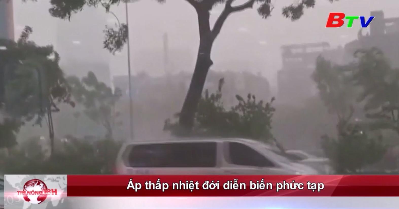 Áp thấp nhiệt đới diễn biến phức tạp