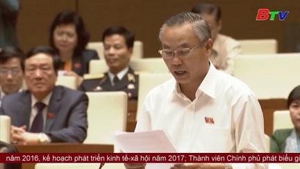 Quốc hội thảo luận về kế hoạch đầu tư công trung hạn, giai đoạn 2016-2020