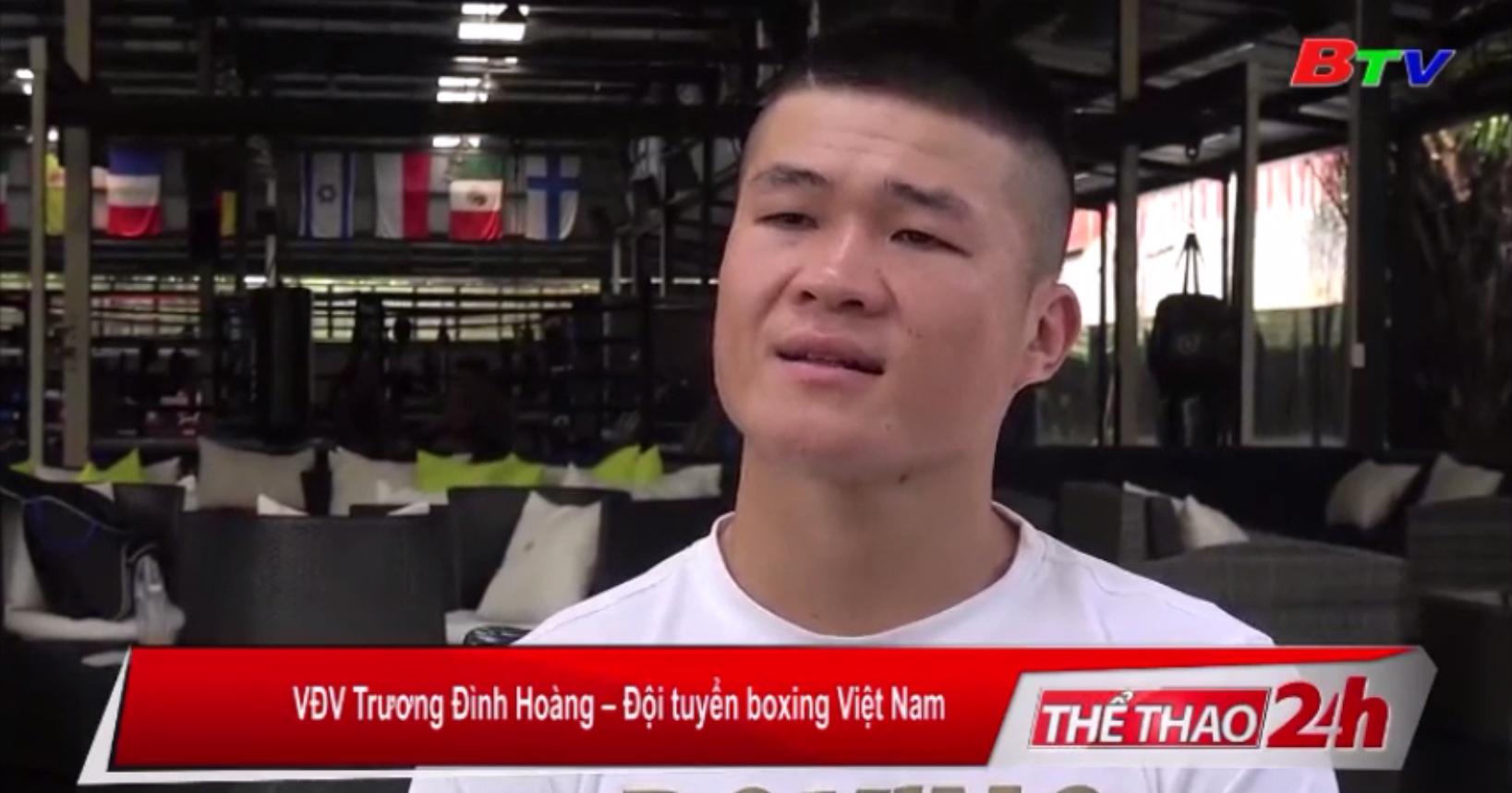 Trương Đình Hoàng - Niềm hy vọng của Boxing tại SEA Games 30