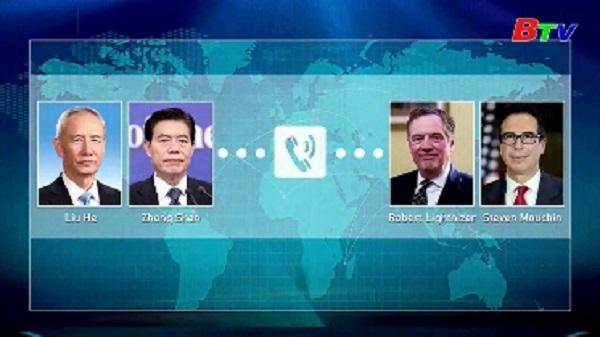 Điện đàm thương mại Trung - Mỹ
