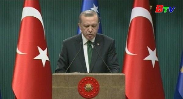 Thổ Nhĩ Kỳ tái khẳng định lập trường không sửa đổi luật chống khủng bố