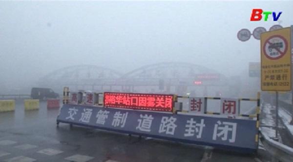 Bắc kinh tiếp tục ban bố cảnh báo cam ô nhiễm không khí