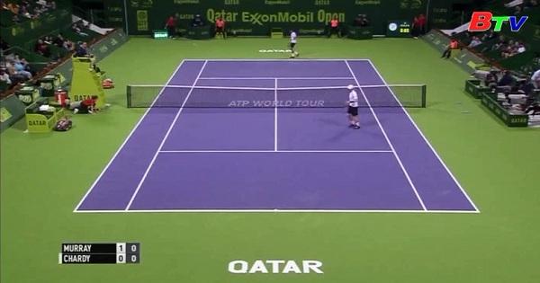 Kết quả vòng 1 Qatar Open 2017