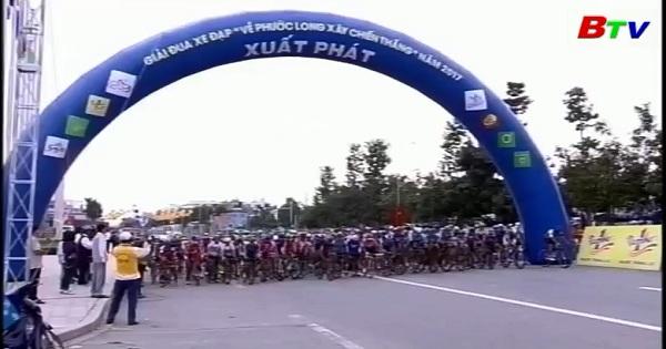 Kết thúc Giải xe đạp: Về Phước Long Xây Chiến Thắng năm 2017