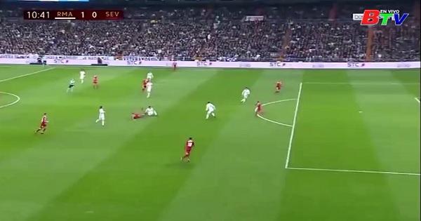 Lượt đi vòng 1/8 Cup nhà vua Tây Ban Nha: Real Madrid  3-0 Sevilla