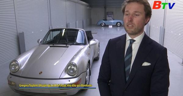 Đầu giá xe Porsche 911 của danh thủ Diego  Maradona