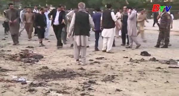 Nhiều vụ nổ tại thủ đô của Afghanistan