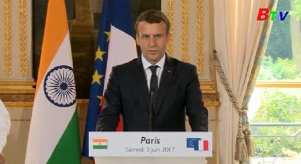 Pháp và Ấn Độ cùng cam kết sẽ nỗ lực bảo vệ Trái Đất