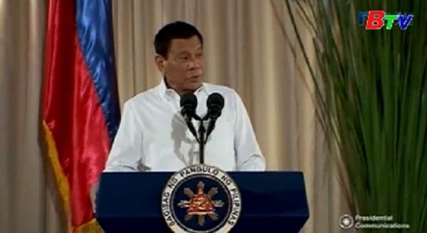 Tổng thống Philippines tái khẳng định không đàm phán với phiến quân ở Marawi