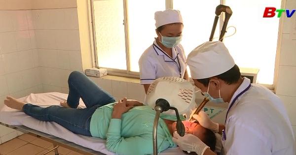 Bệnh viện Y học cổ truyền Bình Dương ứng dụng Laser trong điều trị