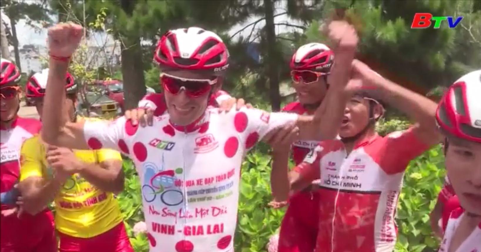 Chặng 15 xe đạp HTV lần thứ 32 – Sinh nhật đáng nhớ của tay đua Javier Perez